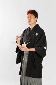 タケシ羽織袴